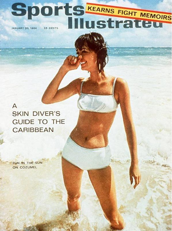 Image result for sports illustrated swimsuit 60s