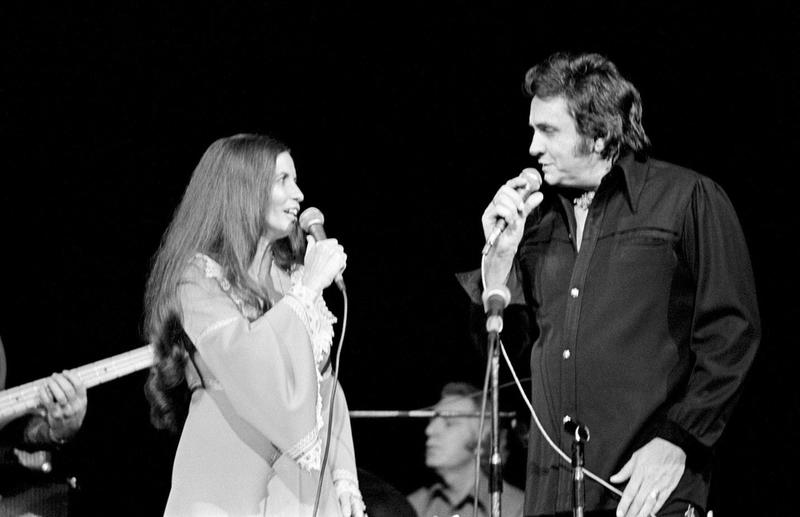 Country Music Legends Johnny Cash And June Carter And Their 30 Year