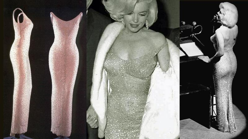 Marilyn Monroe Had to be Sewn into the Tight Dress that She Wore to ...