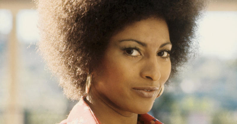 Foxy brown pam grier young