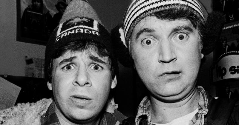 Bob And Doug Mckenzie 12 Days Of Christmas.Bob Doug Mckenzie How Strange Brew S Hosers Took Off Eh